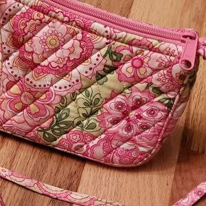 "Vera Bradley Bags - Vera Bradley Petal Pink ""Amy"" Mini Purse Retired"